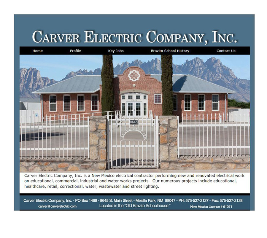 Carver Electric Company Inc.  - Website Logo