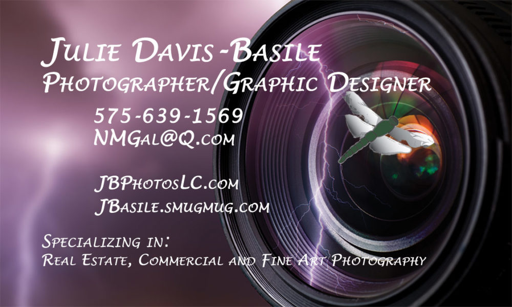 Julie Davis Basile business card